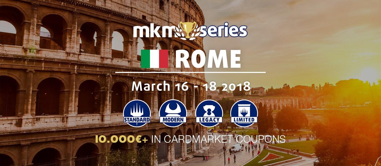 MKM Series Roma 2017