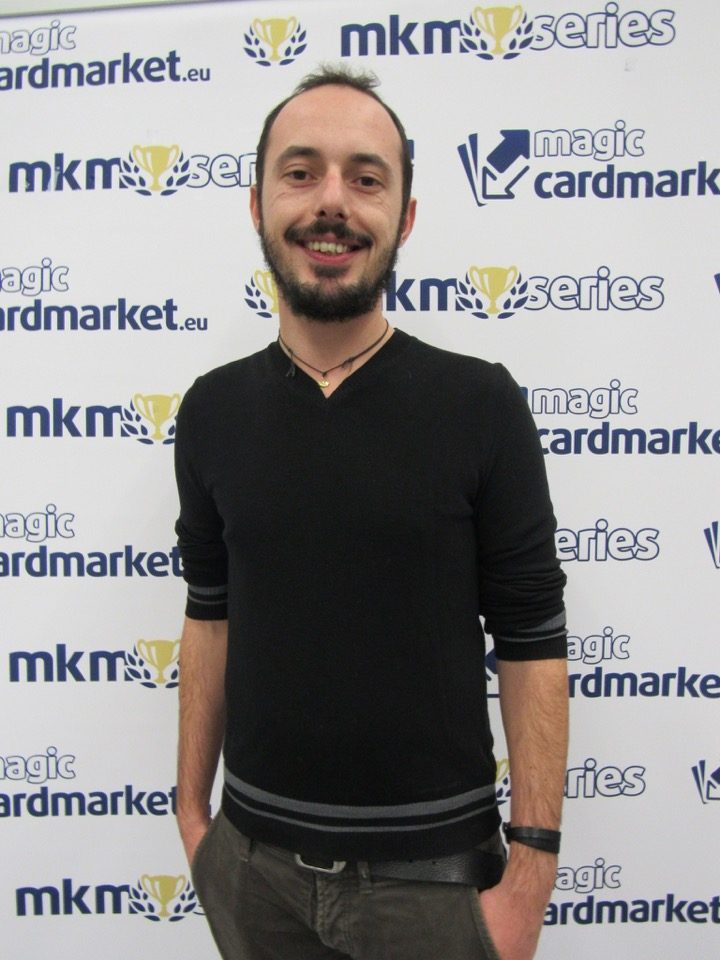 Angelo Cadei advanced to the Top 8 of the Legacy main event at the MKM Series Prague 2016!