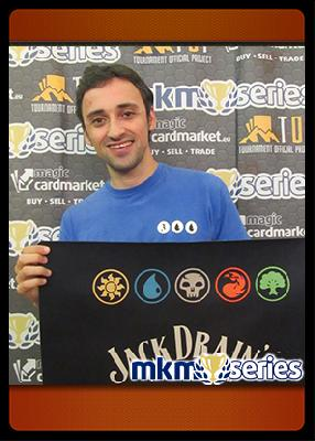 Miquel Alcoriza at the MKM SERIES TOULOUSE 2015 – LEGACY: