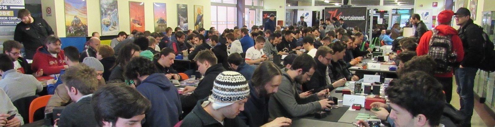 The venue was packed on Day 2 of MKM Series Milan!