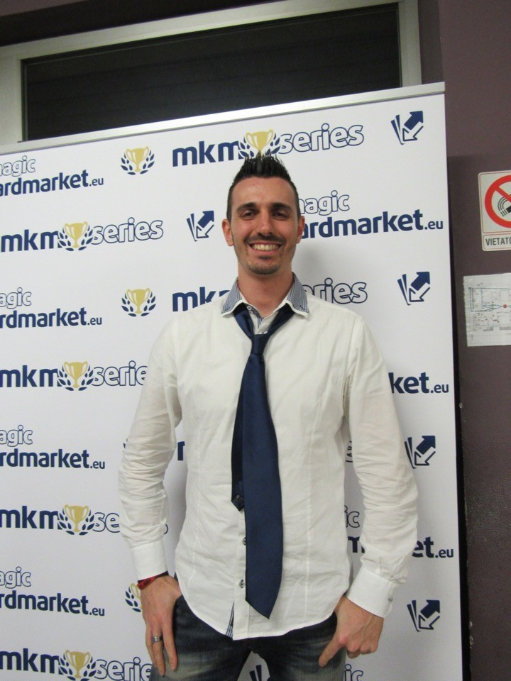 Stefano Maggio made it to the Top 8 at MKM Series Milan!