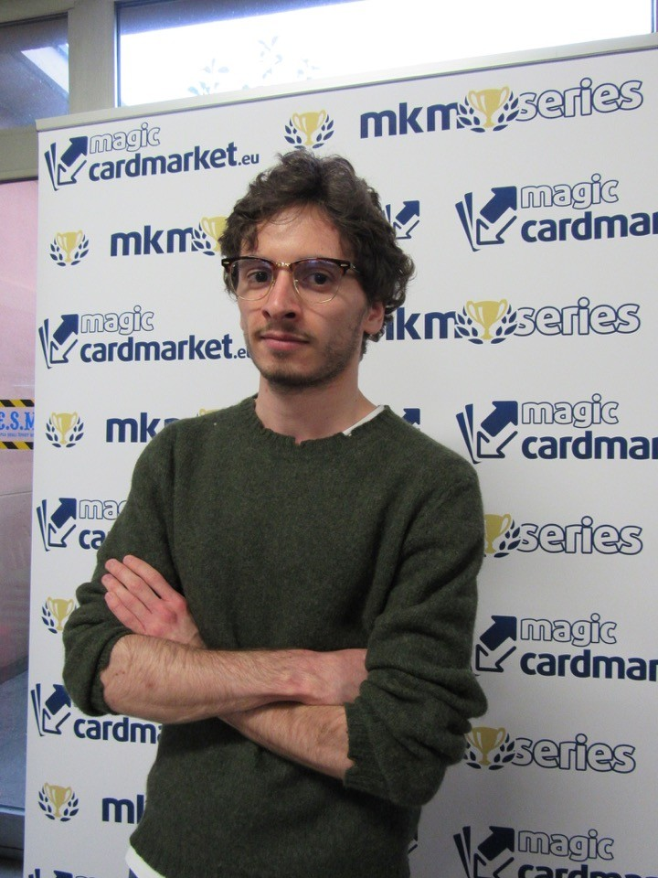 Luca Cassetta made the Top 8 at MKM Series Milan!