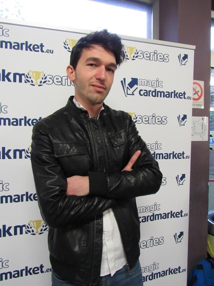 Nikolin Lasku posing for his Top 8 profile picture!