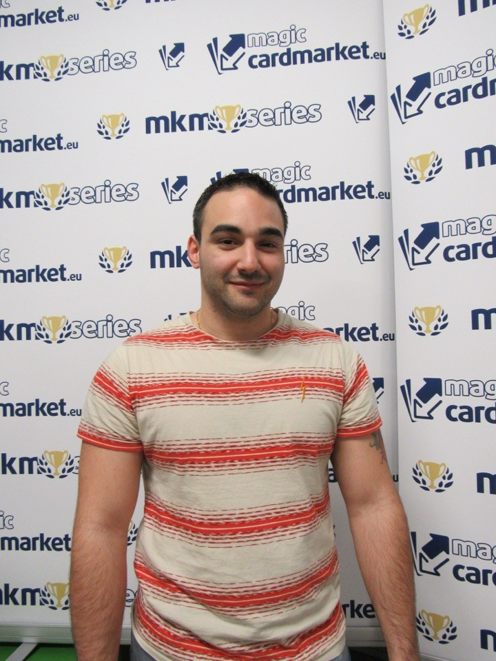 Sebastien Covili piloted Grixis Delver into the Top 8 of the MKM Series Milan!