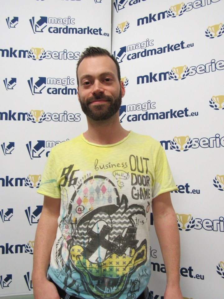 Ari Figgin reached the Top 8 of the MKM Series Milan with Affinity!