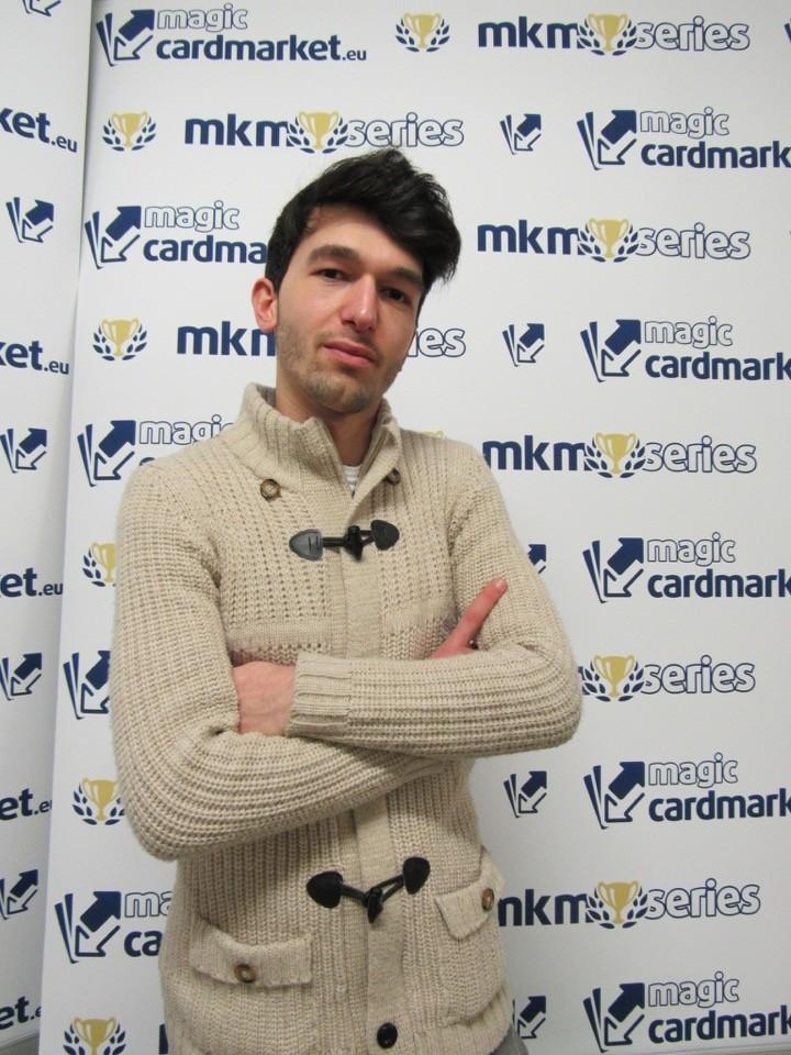Nikolin Lasku advanced to the Top 8 twice at the MKM Series Milan!
