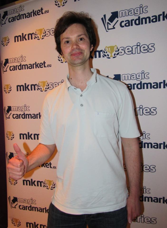 Julian Gür had his first Top 8 appearance at MKM Series Frankfurt