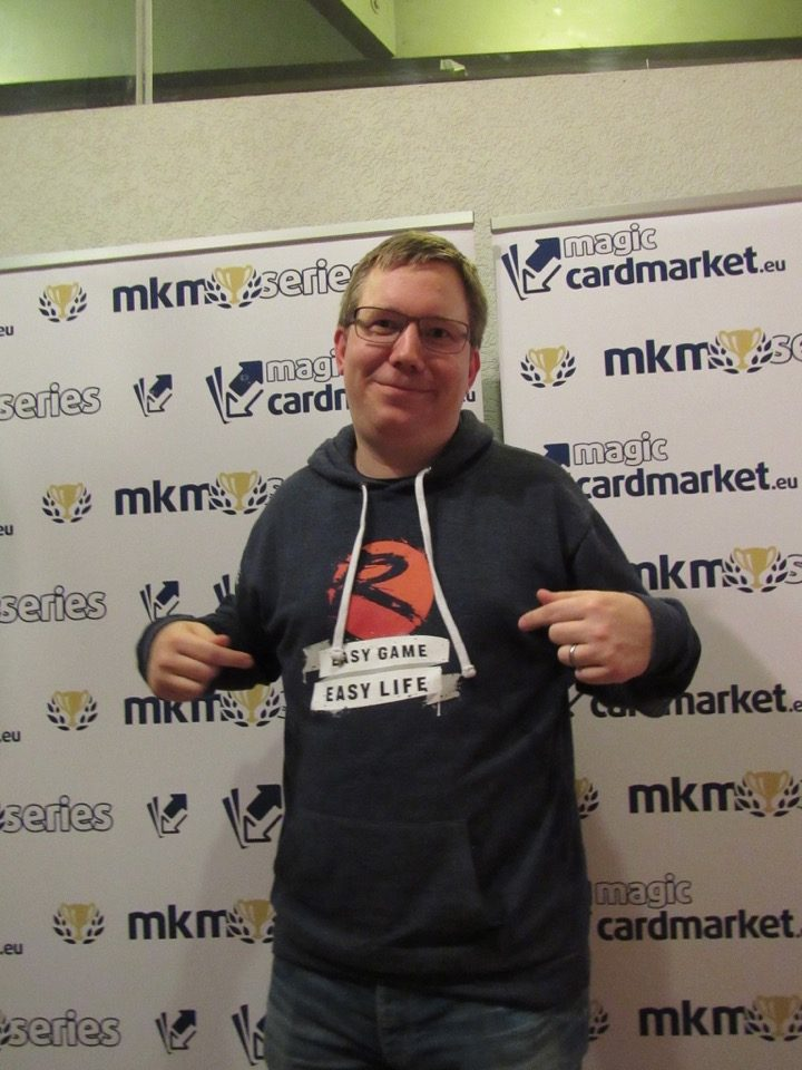 Jonas Zimmermann when he advanced to the Top 8 of the Modern event at MKM Series Frankfurt!