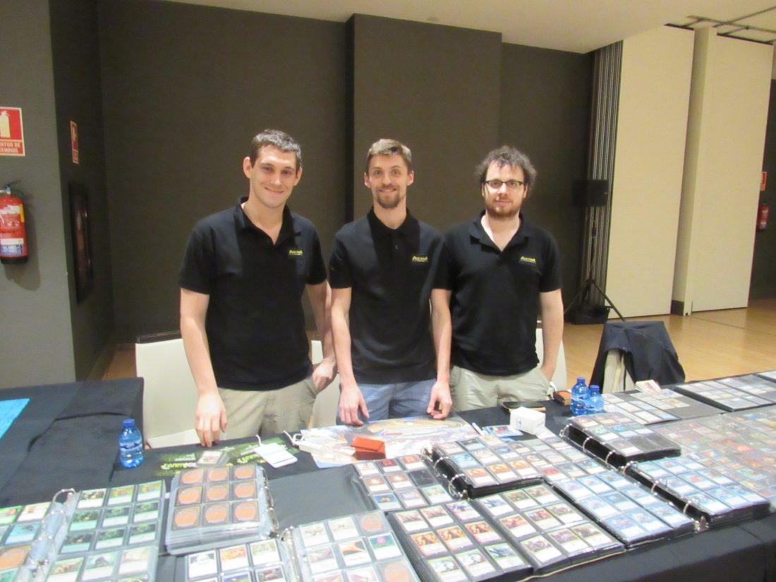 Team Arcana Distribution - Giulio, Stefano and Enrico