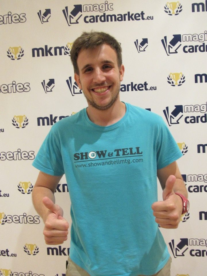 Carlos Oliveros managed to advance to the Top 8 of the Modern main event of the MKM Series Madrid 2016!