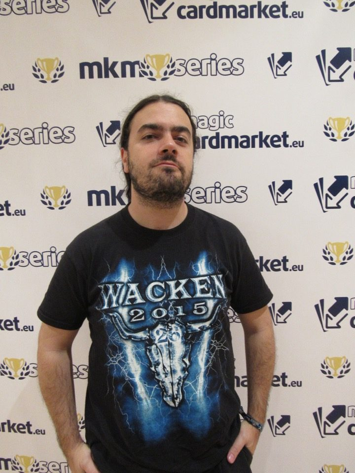 Javier Carnicer advanced to the Top 8 of our Standard main event at MKM Series Madrid in 2016!