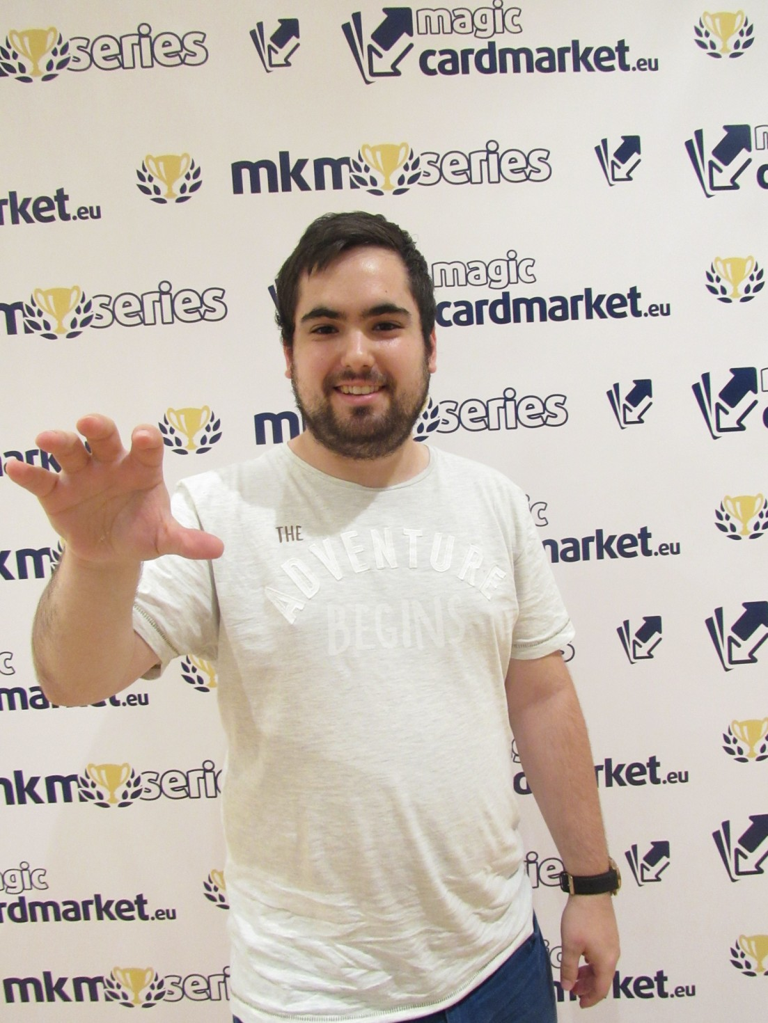 Santiago Ballestero advanced to the Top 8 of our Standard main event at MKM Series Madrid 2016!
