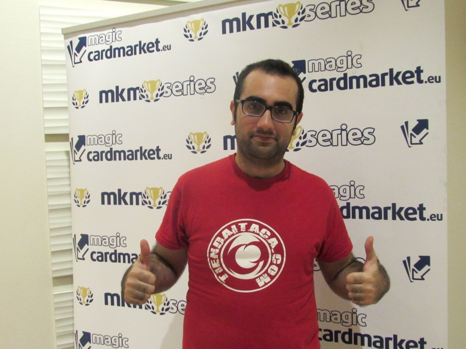 Sergio García was victorious in the finals of the third Trial!