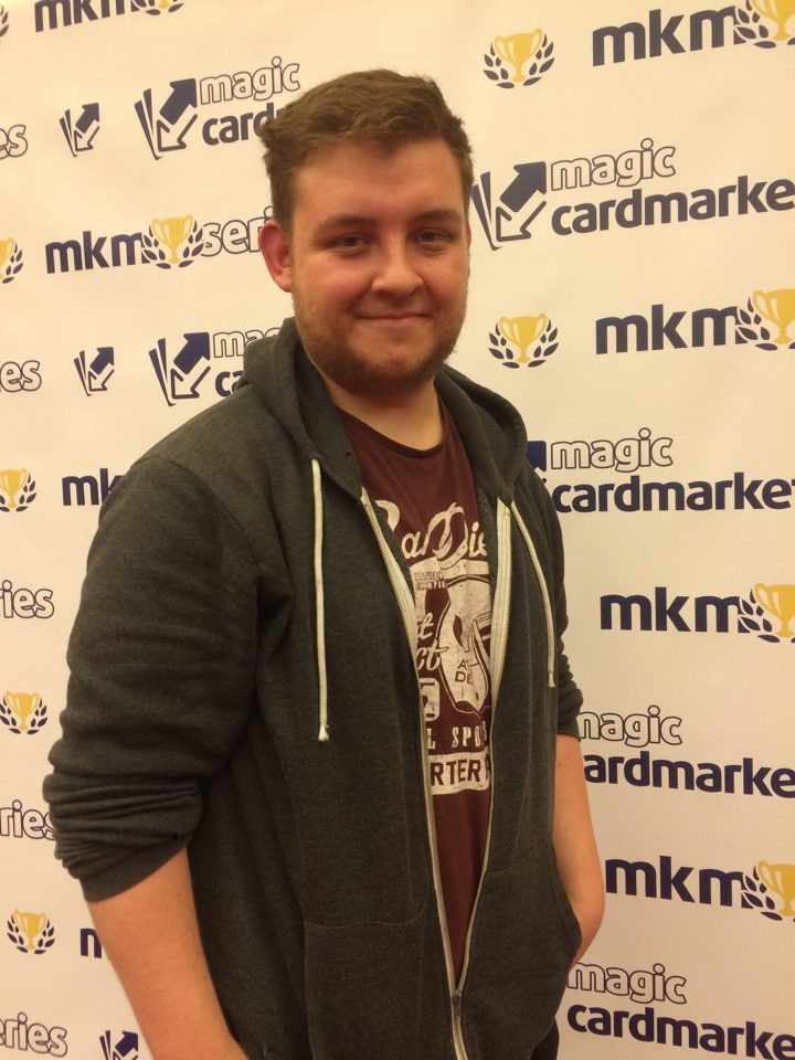 Rob Catton advanced to the Top 8 of the Modern main event of the MKM Series London 2016. Find out more about him on his player profile.