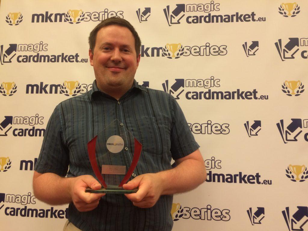 Matthew Johnson won the Vintage main event of MKM Series London 2016!