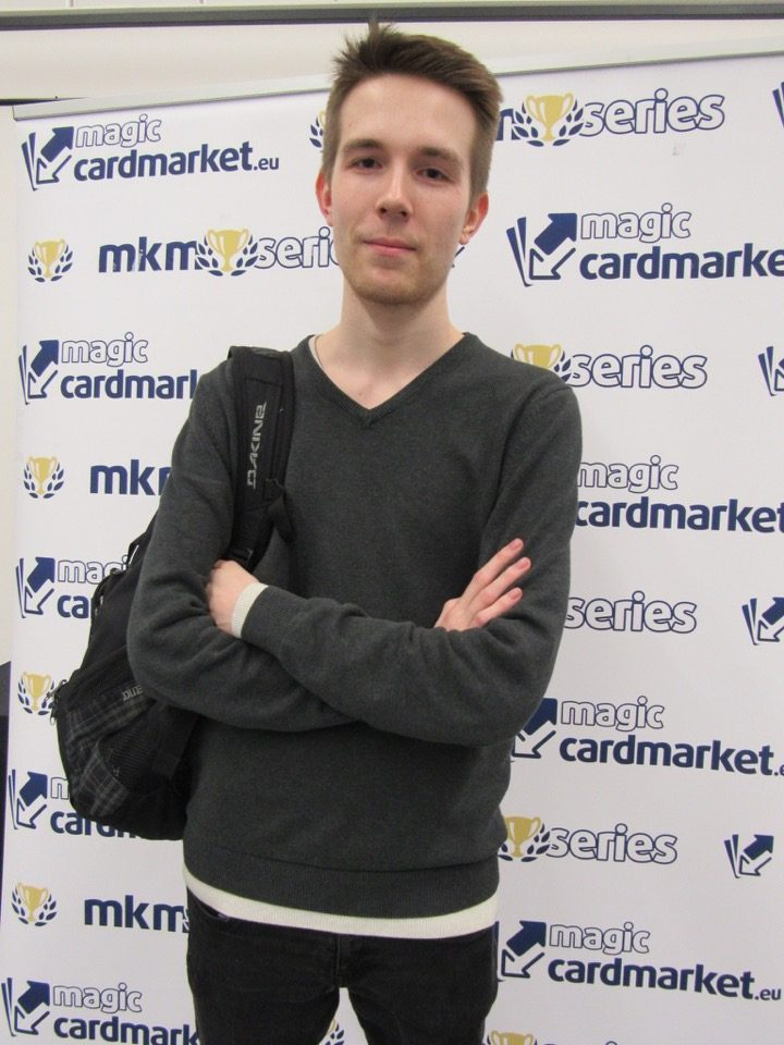 Nicklas Krull managed to advance to the Top 8 of the Legacy main event of the MKM Series Prague 2016!