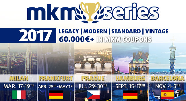 The MKM Series events in 2017