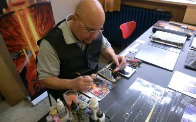 Artist Interview: Bryon Wackwitz