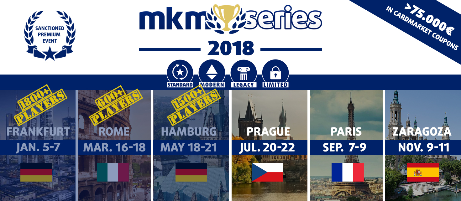 MKM Series 2018 - all events banner