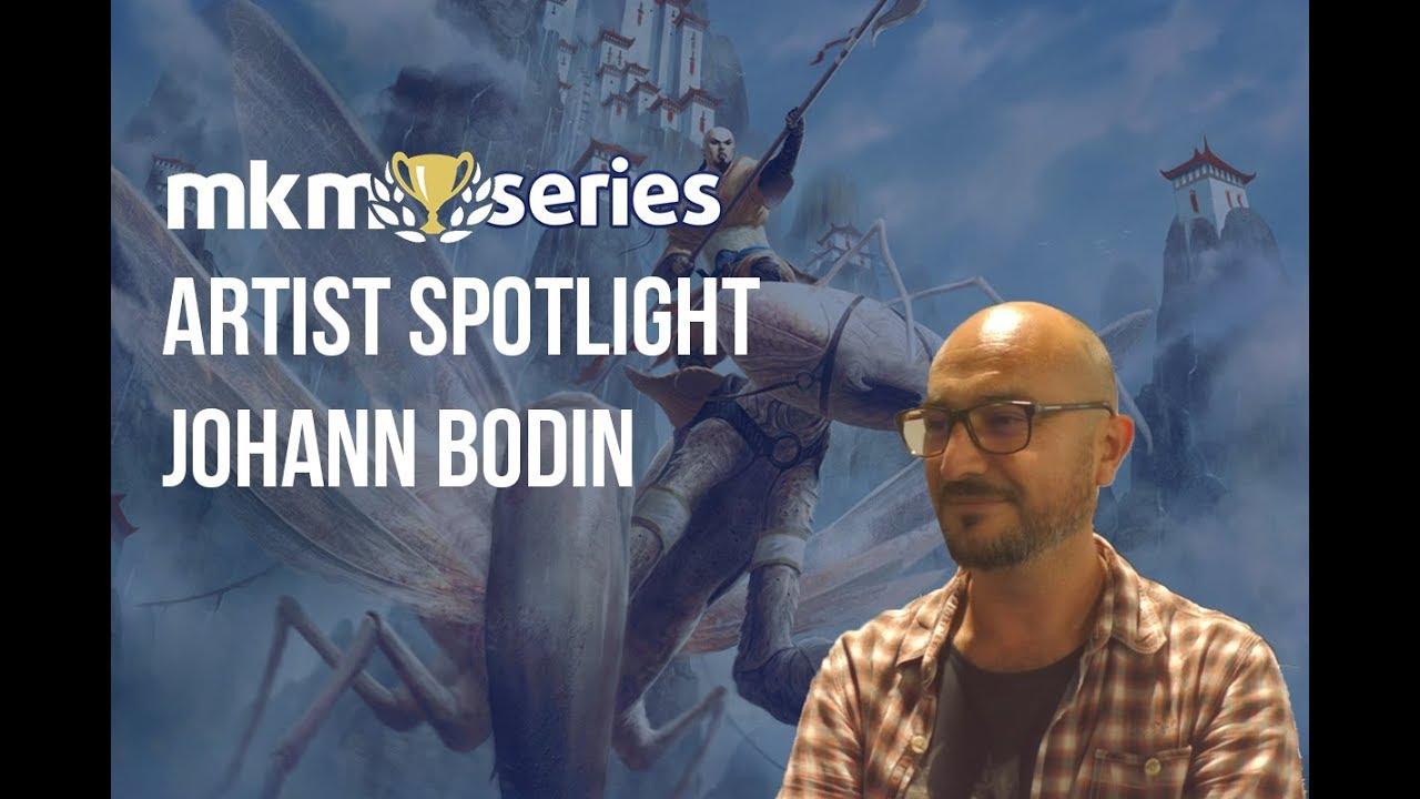 Artist Spotlight – Johann Bodin