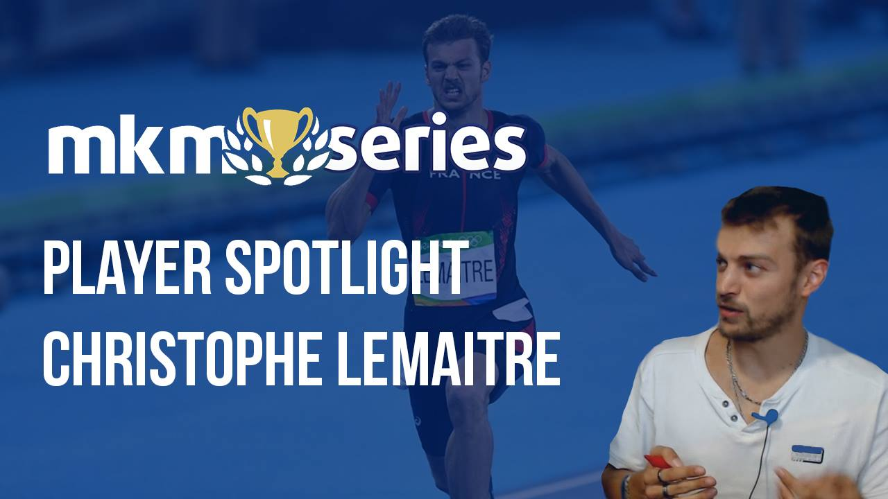 Video Interview: Gold Medalist Christophe Lemaitre