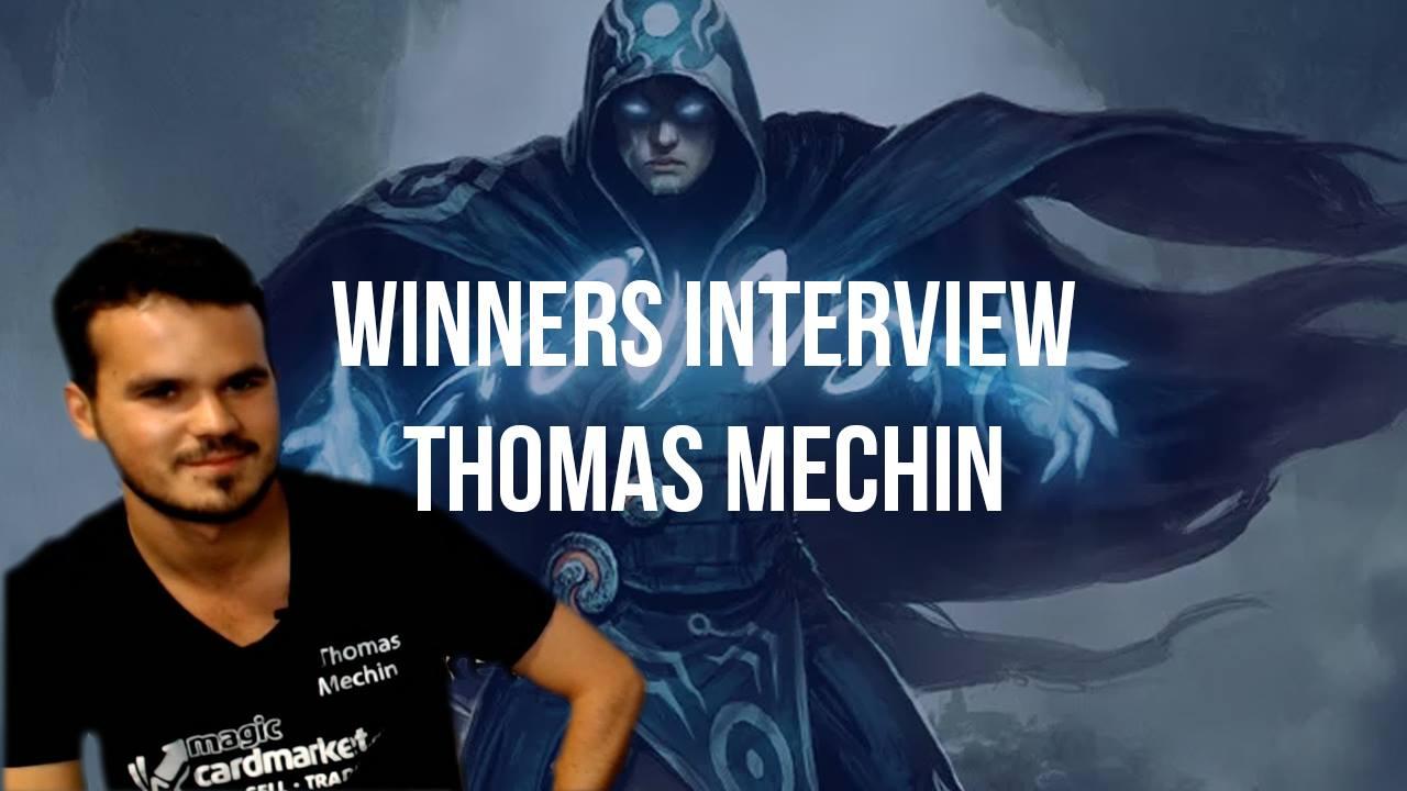 Video Interview: Modern Winner Thomas Mechin